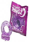 * Vibrating Pleasure Ringz Disposable Cockring 36 Per Bowl (120065.19)