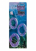 Silicone Island Rings - Purple (135712.8)